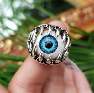 Unisex Evil Eye Fashion Ring